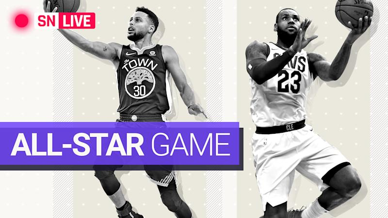huge selection of 5904c 6389c NBA All-Star Game 2018: Team LeBron defeats Team Stephen in ...