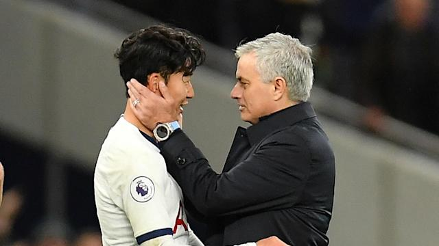 """Son Heung-min scored a memorable goal in Tottenham's win against Burnley, which head coach Jose Mourinho hailed as a """"tremendous"""" strike."""