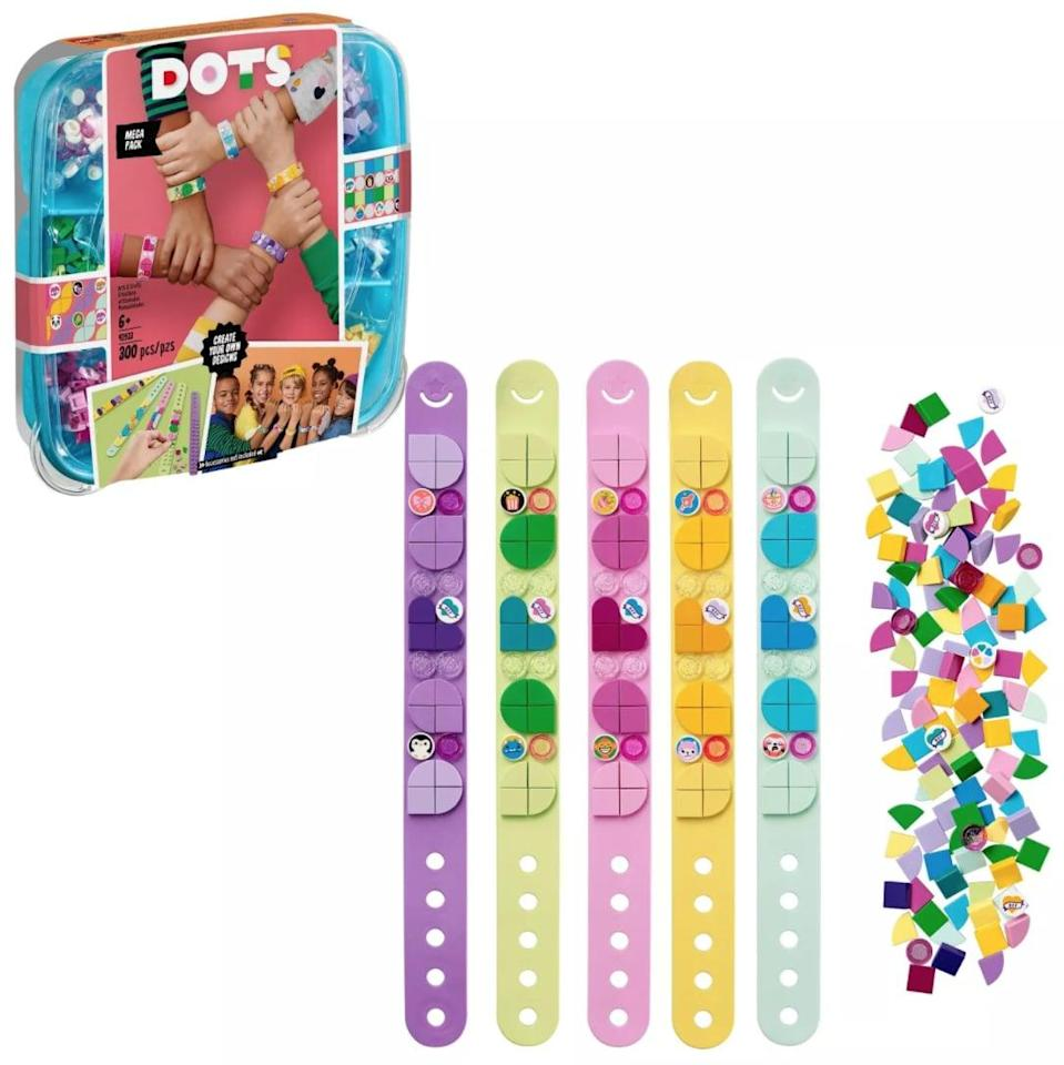 <p>They can make their own designs with the <span>Lego Dot Bracelet DIY Kit</span> ($20). We have no doubt they'll enjoy creating designs for both themselves and their friends.</p>