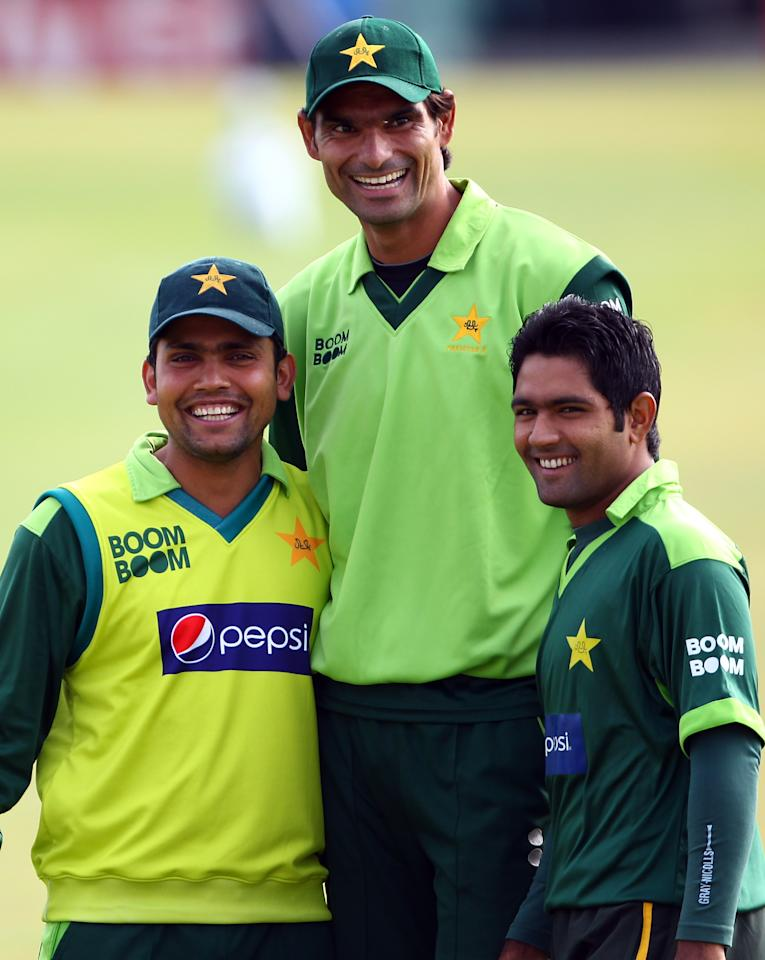 """Mohhamad Irfan,  7' 1"""": The height of this left-arm Pakistan fast bowler has been the subject of some speculation, but Irfan has confirmed to being an inch over seven feet, a few notches above his idol Joel Garner. Spotted by former international Aaqib Javed and summoned to the National Cricket Academy in Lahore for training, Irfan impressed in the Quaid-e-Azam Trophy in 2009 and debuted for Pakistan the next year against England when Mohammad Asif and Mohammad Amir were axed from the side for spot-fixing. The 30-year-old also signed an MOU with Kolkata Knight Riders for the 2011 season, after he was recommended by Wasim Akram, though BCCI's disapproval of Pakistani players playing the IPL cost him a chance to compete in the cash-rich league."""