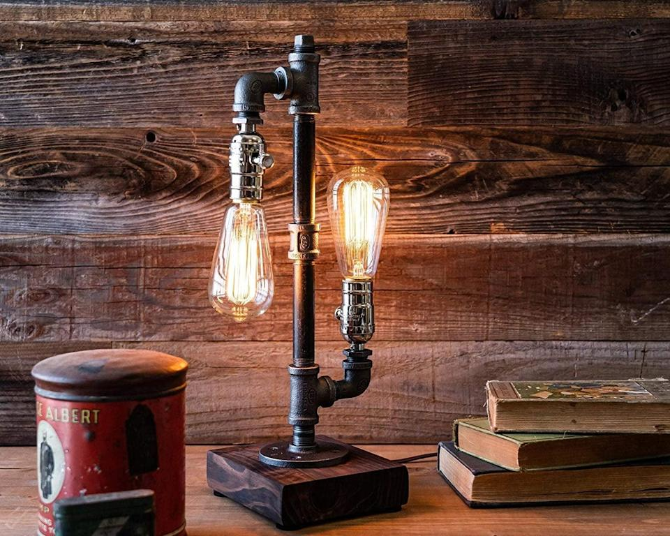 <p>Add an industrial touch to any room with the <span>Urban Industrial Craft Edison Desk Lamp</span> ($89).</p>