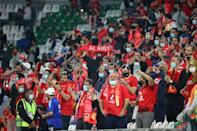 Noisy Ahly fans made for the liveliest matches seen in Qatar since the beginning of the coronavirus pandemic