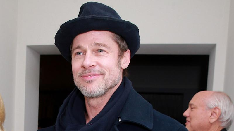 The 54-year-old actor showed up to the Gersh Oscar Party at Chateau Marmont in L.A.