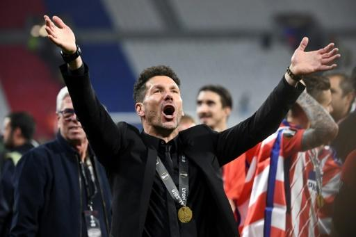 Diego Simeone has now won six trophies in six and a half years as Atletico coach