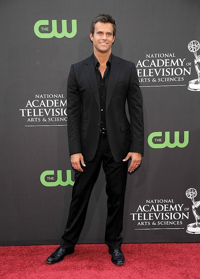 """""""All My Children"""" heartthrob Cameron Mathison came clad in black. Frazer Harrison/<a href=""""http://www.gettyimages.com/"""" target=""""new"""">GettyImages.com</a> - August 30, 2009"""