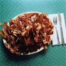 """<p><em>Yessss</em>. Bacon was making an appearance in baked goods, booze, meat dishes, and more. As mentioned in <a href=""""http://www.twincities.com/2008/11/05/americans-are-going-hog-wild-over-bacon/"""" rel=""""nofollow noopener"""" target=""""_blank"""" data-ylk=""""slk:St. Paul's Pioneer Press"""" class=""""link rapid-noclick-resp"""">St. Paul's <em>Pioneer Press</em></a>, there was a 40 percent increase in bacon consumption prior to 2009, and of course, it's only grown in popularity from there.</p>"""