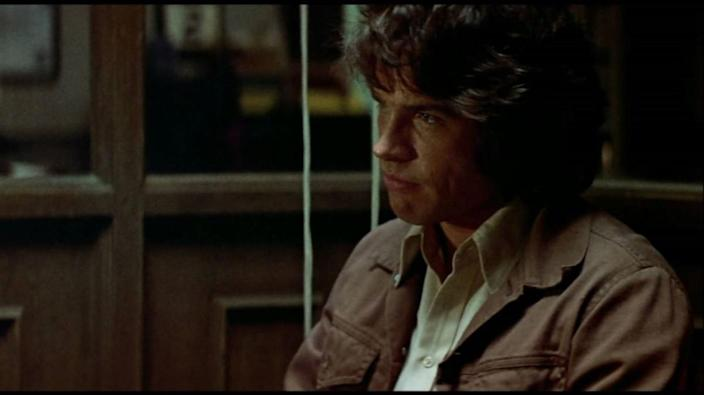 Warren Beatty as Joe Frady in The Parallax View.