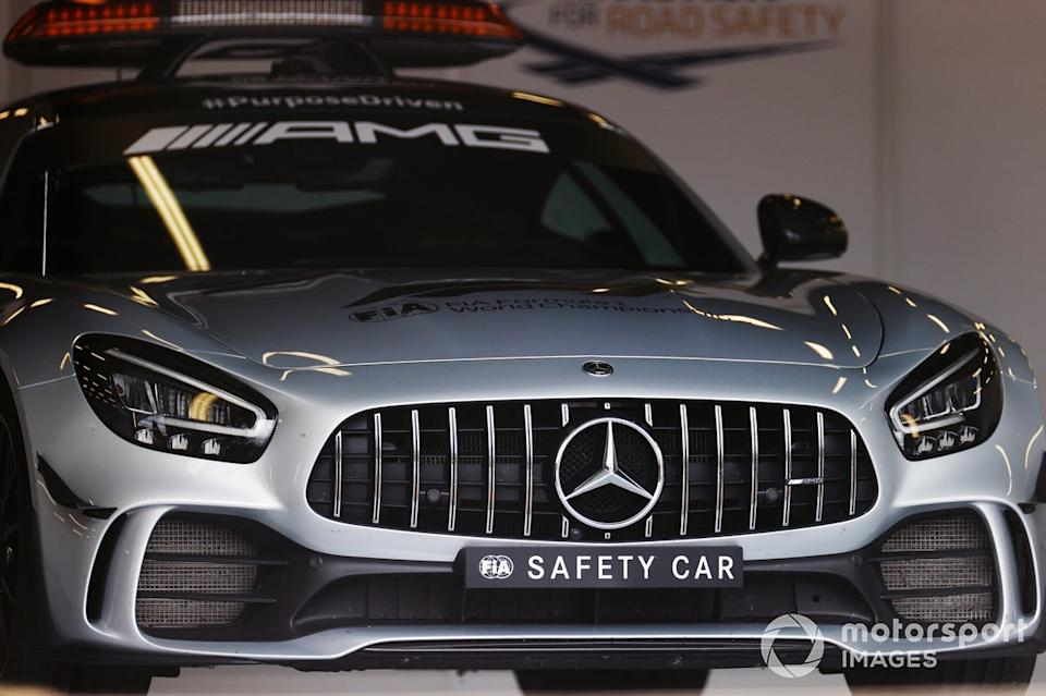 """El AMG Mercedes safety car<span class=""""copyright"""">Andy Hone / Motorsport Images</span>"""