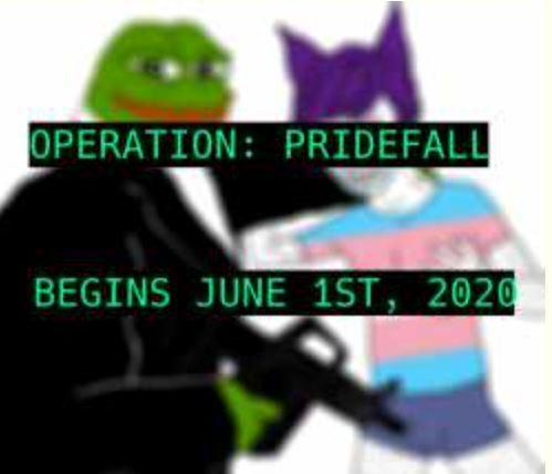 Alt-right 4chan memes are being updated for Operation Pridefall against LGBT+ Pride month