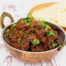 """<p>This beautiful authentic Indian curry is made with lamb shoulder, caramelised onions, Greek yoghurt and lots of fragrant spices. </p><p>Get the <a href=""""https://veenaazmanov.com/indian-lamb-curry/"""" rel=""""nofollow noopener"""" target=""""_blank"""" data-ylk=""""slk:Lamb Shoulder Curry"""" class=""""link rapid-noclick-resp"""">Lamb Shoulder Curry</a> recipe.</p><p>Recipe from <a href=""""https://veenaazmanov.com/"""" rel=""""nofollow noopener"""" target=""""_blank"""" data-ylk=""""slk:Veena Azmanov"""" class=""""link rapid-noclick-resp"""">Veena Azmanov</a>.</p>"""
