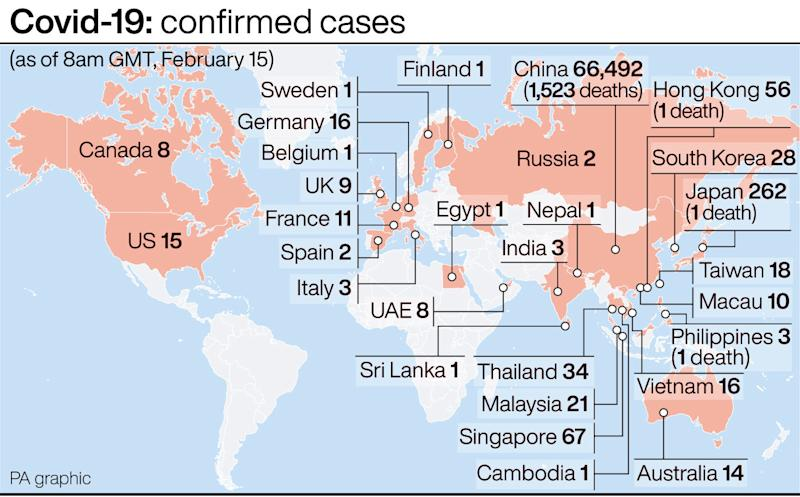 Coronavirus: First death outside Asia reported in France