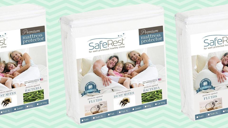 Over 83,000 Shoppers Love This Mattress Protector That's Hypoallergenic, Waterproof, and Breathable