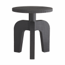 """<p>A simple structural silhouette, the Hector is a celebration of craftsmanship. Its all-wood construction explores architectural elements, which are exposed in arches of the tripod base. </p><p>Danielle's A-List Anecdote:<em>""""The Hector Accent table could be used in almost any space. Mixing earthy and textural in clean, modern places works well. It gives a nod to a West African aesthetic which, to me, is always a plus, making a space feel collected and soulful.""""</em></p><p><u>Learn More at <a href=""""https://www.arteriorshome.com/"""" rel=""""nofollow noopener"""" target=""""_blank"""" data-ylk=""""slk:arteriorshome.com"""" class=""""link rapid-noclick-resp"""">arteriorshome.com</a>!</u>  </p>"""