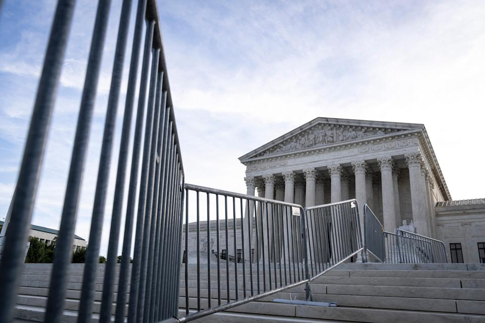 A view of the Supreme Court on September 21, 2021, in Washington, D.C.