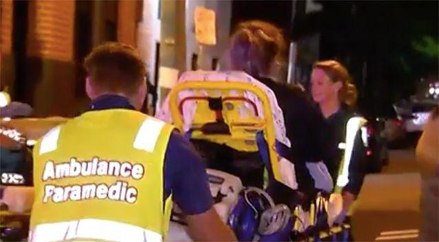 Fifteen people have been treated after a mysterious substance was released in a nightclub. Photo: 7 News