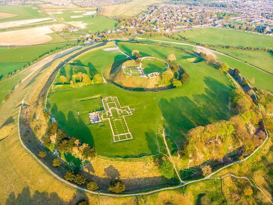 Take a stroll to Old Sarum (Getty Images/iStockphoto)
