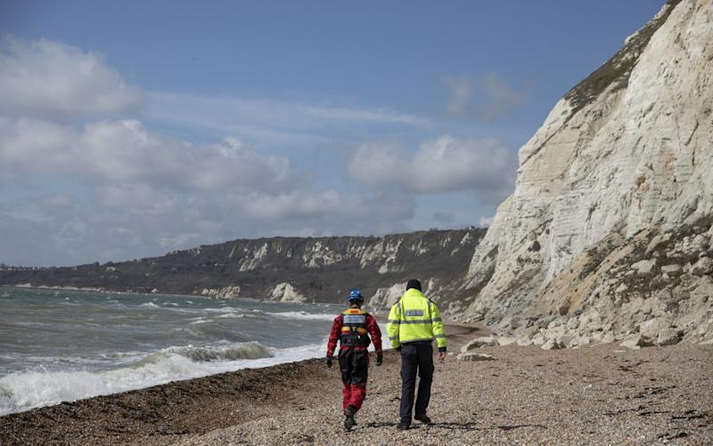 Coastguard and Border Force officials were called in to intercept the boats - Getty Images Europe