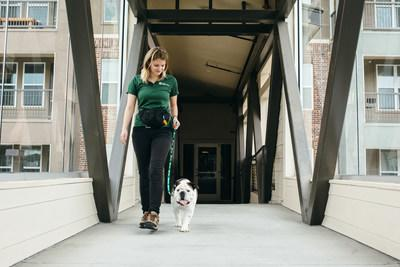 We know that things come up and your residents can't always be there for their furry loved ones, so let us become their pets' next best friend. Our trained pet caregivers can meet your residents' dog or cat and give him or her one or two tail-waggin' visits or walks a day.