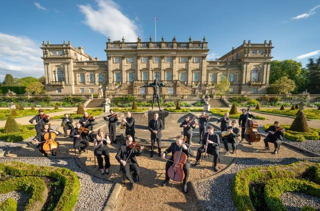 The Yorkshire Symphony Orchestra playing at Harewood House