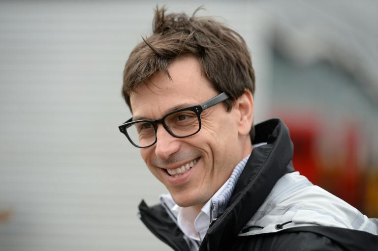 Mercedes AMG Petronas F1 Team's team principal Toto Wolff, seen at the Silverstone Circuit in England, on July 10, 2016