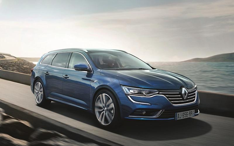 The Renault Talisman is available in saloon or estate form – but not in Britain
