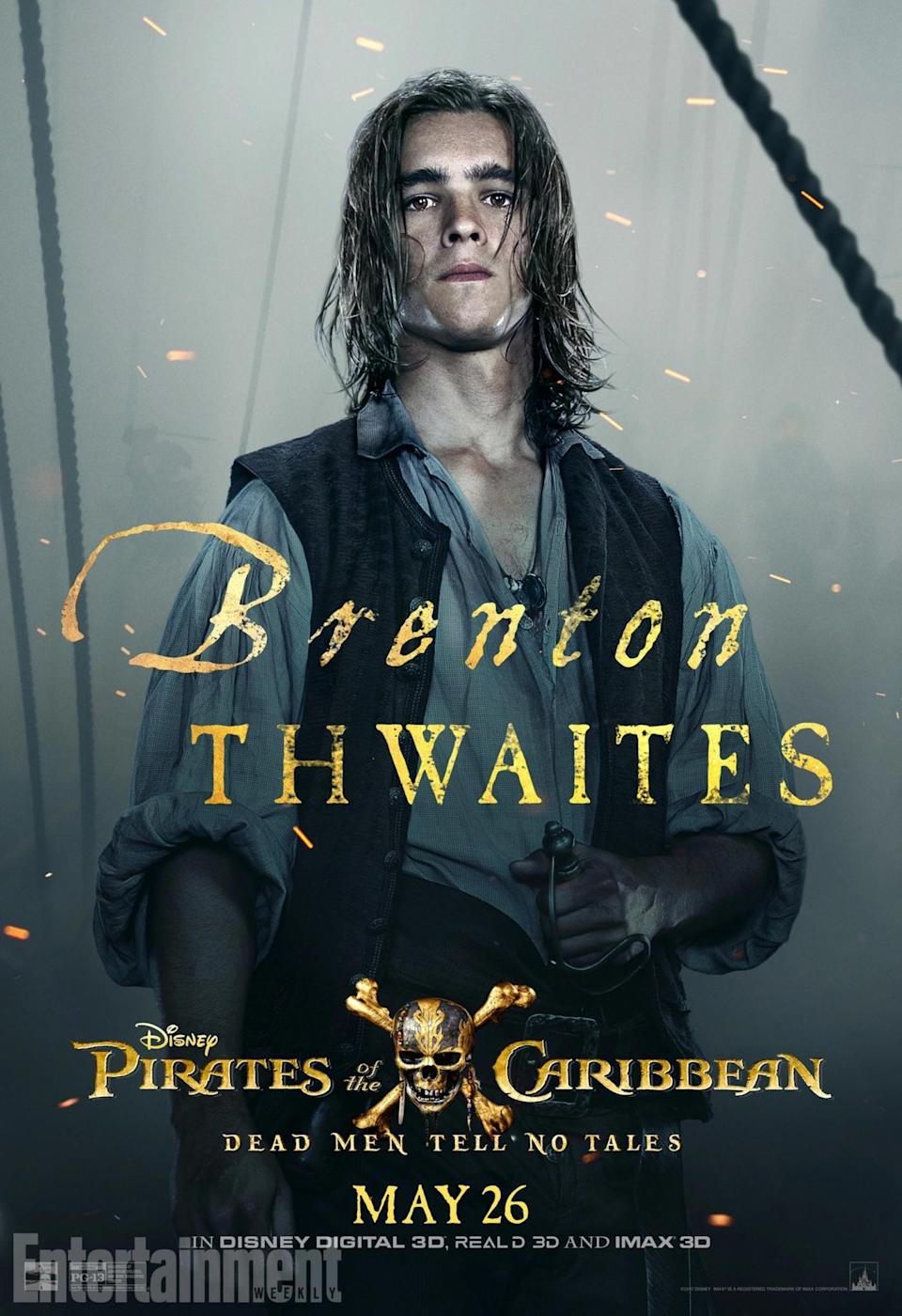 <p>The Turner family is back, this time with Brenton Thwaites as Henry Turner – the son of Orlando Bloom's Will Turner. Clearly, the Turners just can't keep themselves out of trouble, and young Henry quickly ends up running into Captain Jack. And he's looking for answers about his long-lost father…<br>(Credit: Disney) </p>