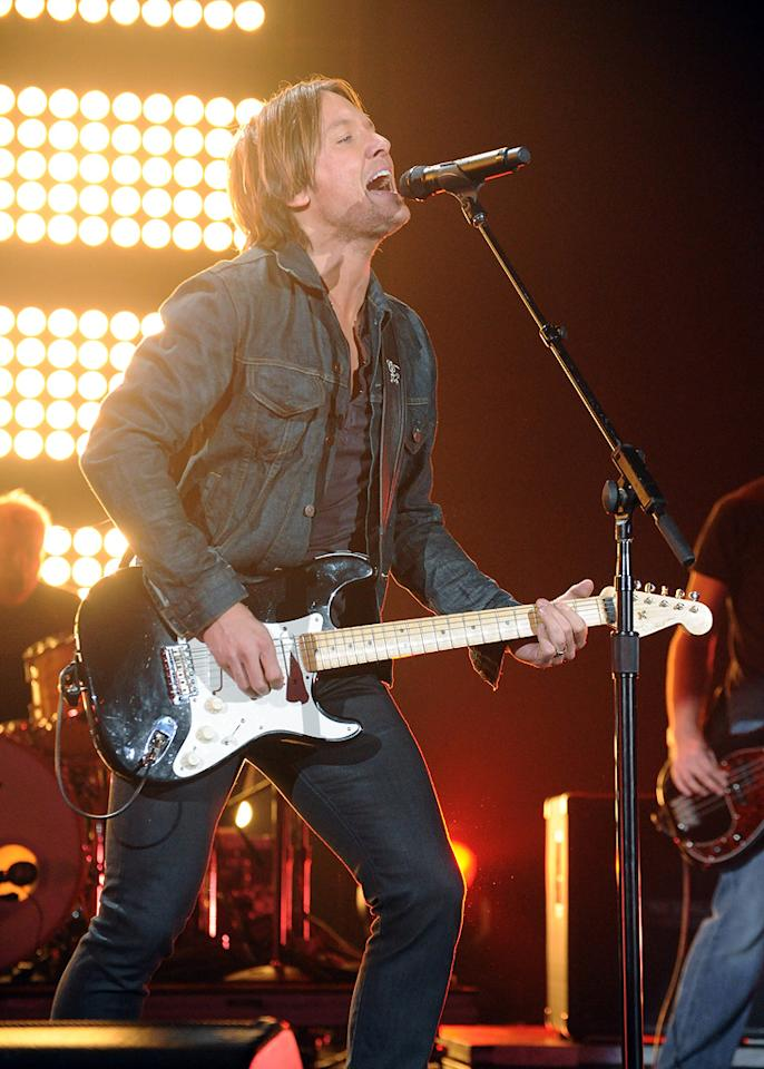 """Aussie import Keith Urban is one of country music's most successful touring acts. As a result, big-name artists such as Jake Owen and The Band Perry have agreed to open for him on his current """"Get Closer"""" world tour. Jeff Kravitz/<a href=""""http://www.filmmagic.com/"""" target=""""new"""">FilmMagic.com</a> - June 8, 2011"""