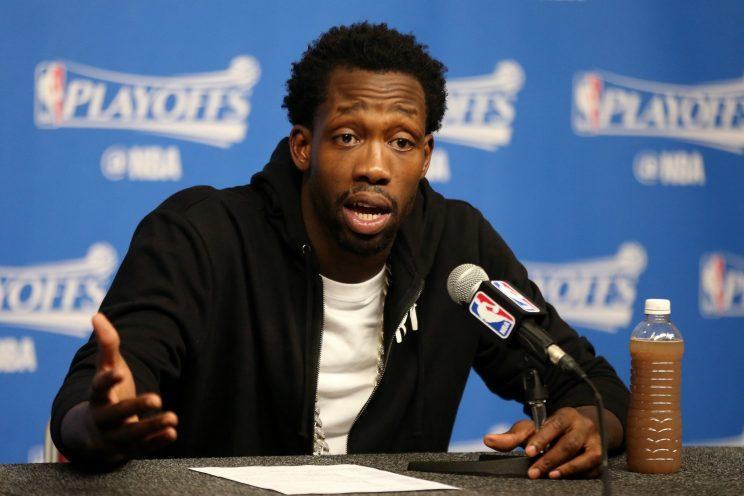 Houston's Patrick Beverley delivered one of many great postgame quotes during the first round. (Getty)