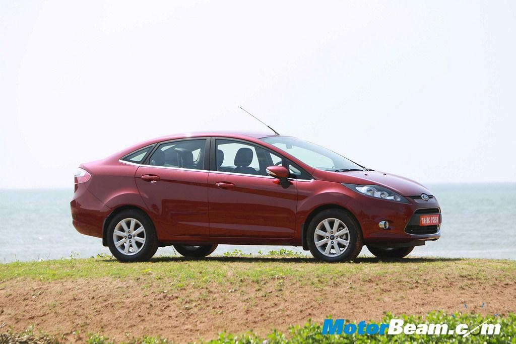 Ford is offering free insurance bundled with accessories and Rs. 10,000/- exchange bonus on the new Fiesta.