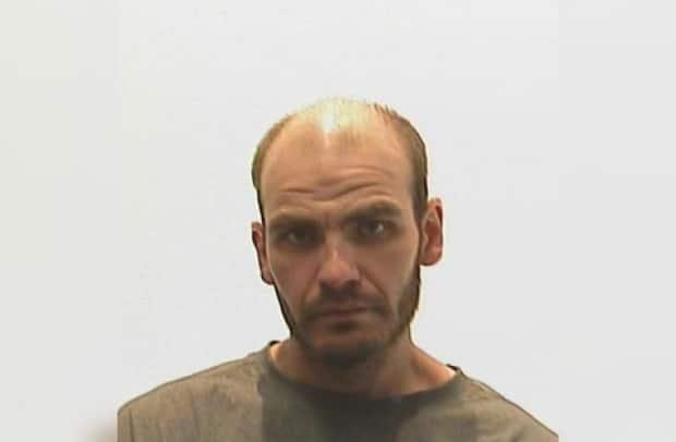 Tyler Edwards was last seen at a supervised work site south of Yorkton, last Friday, before he stole a vehicle and left the area.  (Submitted by Yorkton RCMP - image credit)