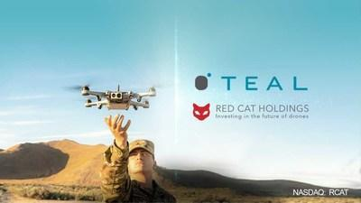 Red Cat Holdings To Acquire Teal Drones