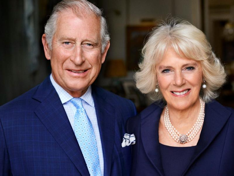 This photo of Camilla and Charles was released in honour of her birthday. Photo Getty