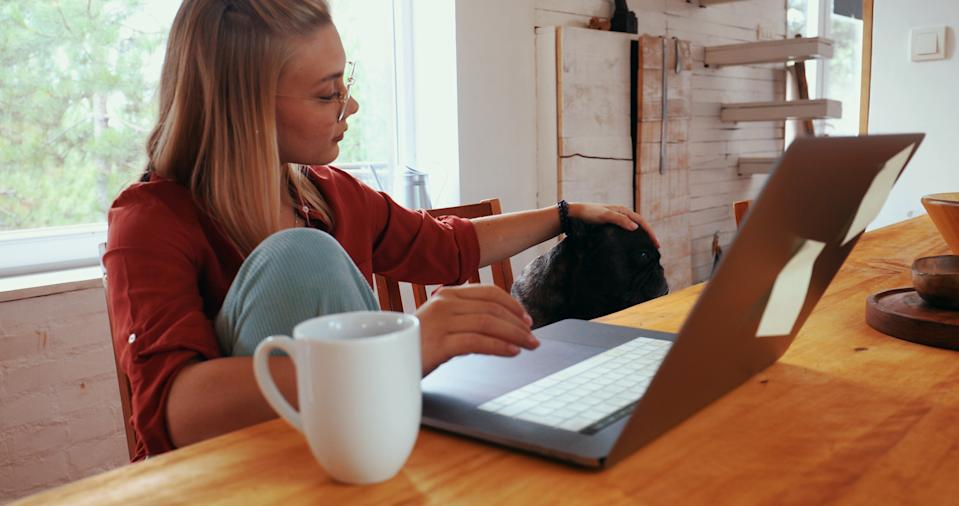 About 28% would give up company benefits such as cars and healthcare if they could work from home for part of their week, according to a study. Photo: Getty Images
