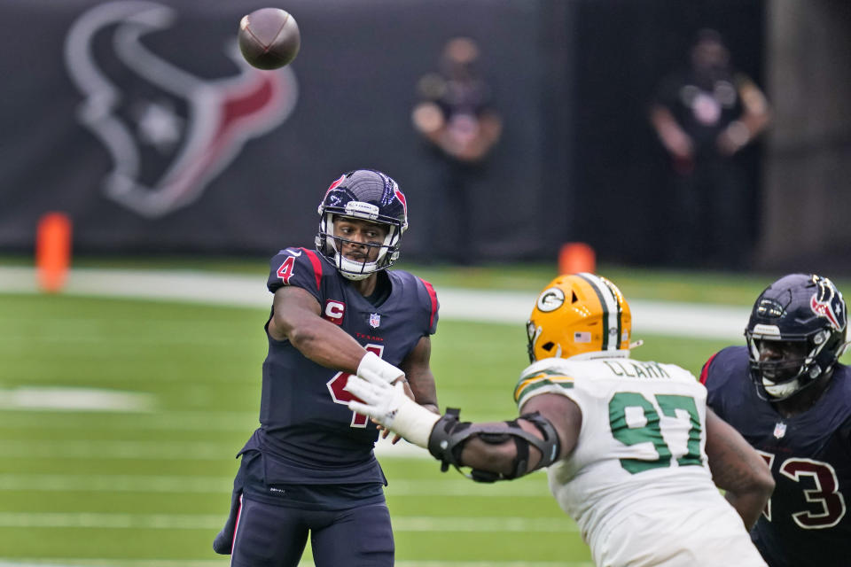 Terrible Texans Drop To 1 6 With 35 20 Loss To Packers