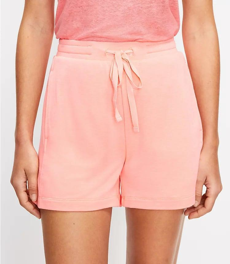 <p>You'll never want to take off these <span>Lou &amp; Grey Signature Softblend Drawstring Shorts</span> ($50).</p>
