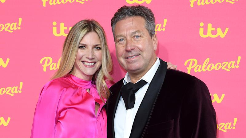 Lisa Faulkner and John Torode, who got married last year, are enjoying their time together in lockdown