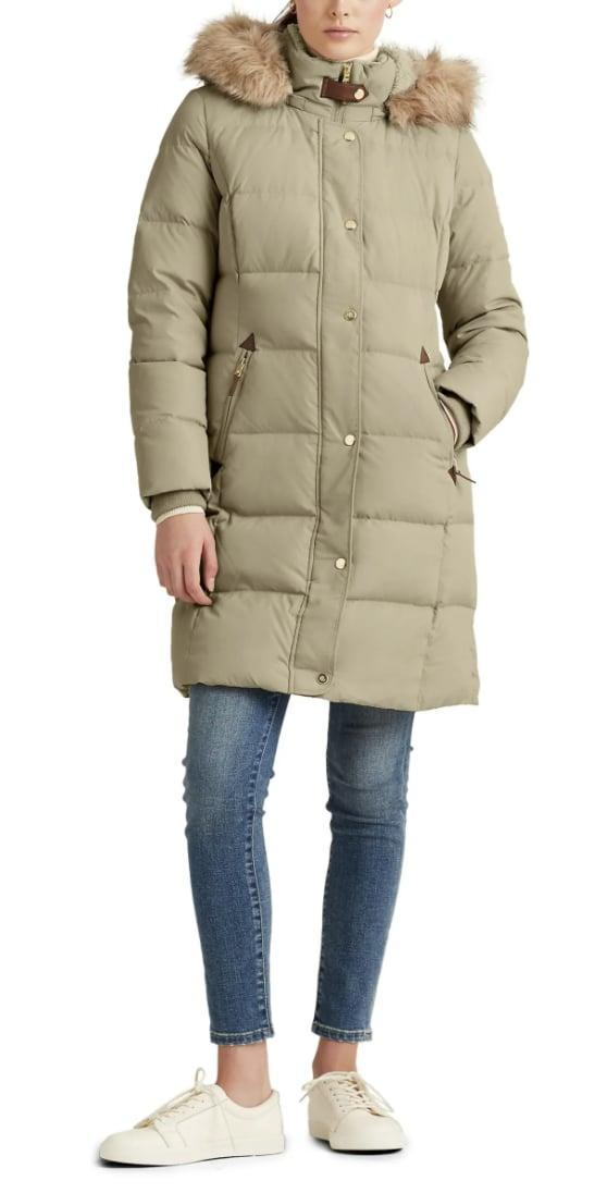 <p>Live your best life in this <span>Lauren Ralph Lauren Faux Fur Trim Down Puffer Coat</span> ($200, originally $330).</p>