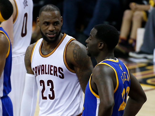 f76f049c29a6 LeBron James and Cavs elaborate on relationship with Draymond Green ...