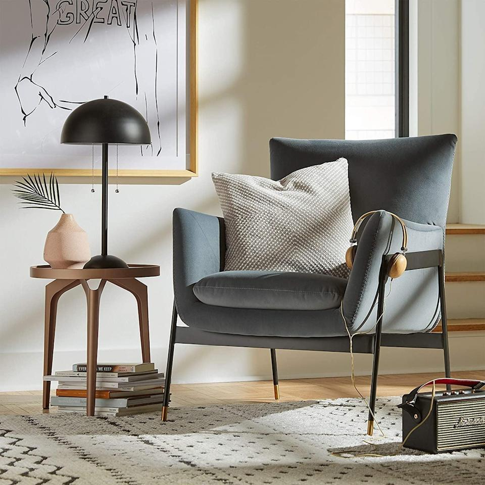 <p>Spend your days relaxing on this <span>Rivet Willard Contemporary Accent Lounge Chair</span> ($311).</p>