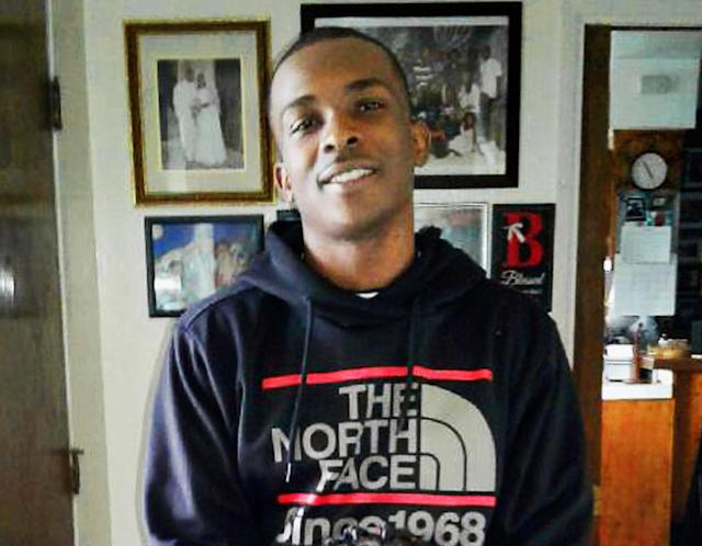 <p>This March 18, 2018, photo, courtesy of the family, shows Stephon Clark at 5:20 p.m. in the afternoon before he died in a hail of police gunfire in the backyard of his grandmother Sequita Thompson's home in Sacramento, Calif. On Monday, March 26, Thompson called for changes in the way police confront suspects, such as sending in a police dog, using a Taser, or aiming for an arm or leg when shots are fired. (Family courtesy photo via AP) </p>