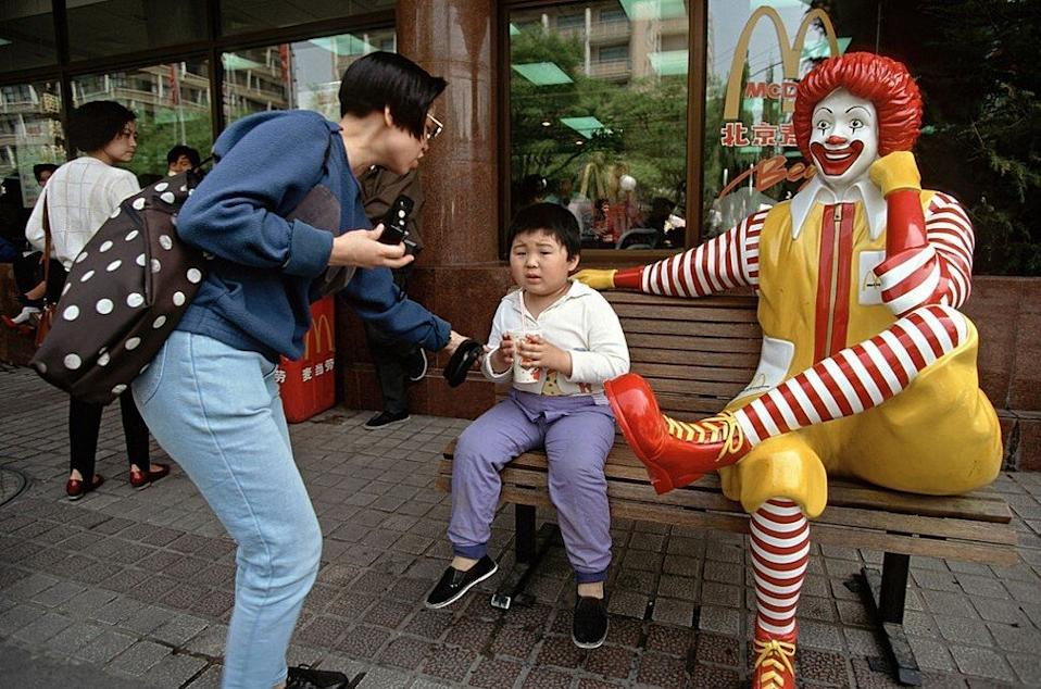 The more developed regions of China, like Beijing, are experiencing a rise in childhood obesity thanks to greater access to fast-food restaurants. Photo: Getty Images