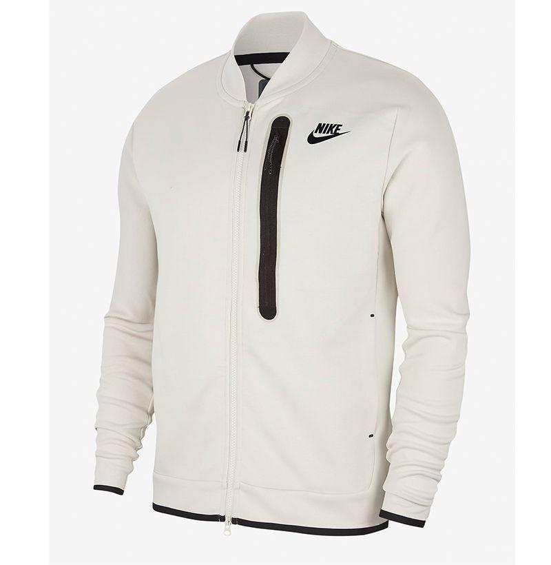 """<p><strong>Nike</strong></p><p>nike.com</p><p><strong>$120.00</strong></p><p><a href=""""https://go.redirectingat.com?id=74968X1596630&url=https%3A%2F%2Fwww.nike.com%2Ft%2Fsportswear-tech-fleece-mens-bomber-mBmBPB&sref=https%3A%2F%2Fwww.esquire.com%2Fstyle%2Fnews%2Fg2932%2F10-best-bomber-jackets-for-fall%2F"""" rel=""""nofollow noopener"""" target=""""_blank"""" data-ylk=""""slk:Buy"""" class=""""link rapid-noclick-resp"""">Buy</a></p><p>A bomber as soft as your favorite sweatshirt.</p>"""