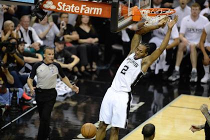 Can Kawhi Leonard build on his NBA Finals MVP-winning performance? (AFP/Robyn Beck)