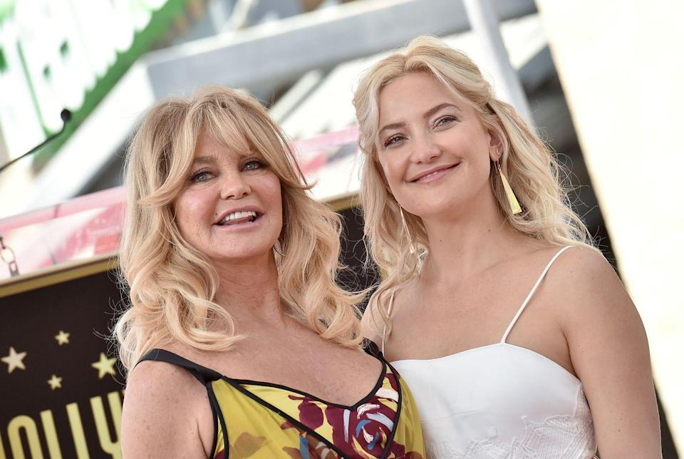 <p>Goldie Hawn has remained a Hollywood mainstay since winning an Oscar for her role in <em>Cactus Flower</em>. Her daughter from her marriage to American actor and musician Bill Hudson brought us the gift and delight that is Kate Hudson. Kate first broke onto the scene with her role as a seasoned groupie in the film <em>Almost Famous, </em>scoring herself an Oscar nod. </p>