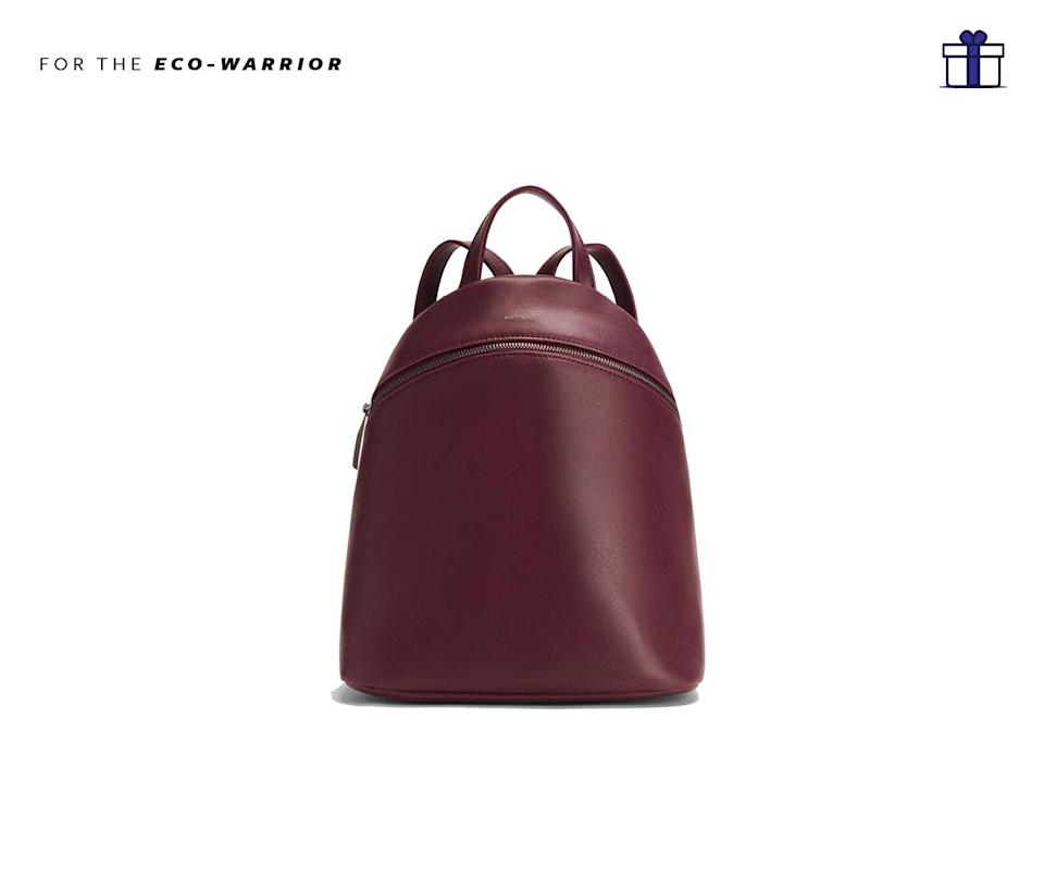 """<p>Known for their vegan leather goods, Matt & Nat create some of the most modern, cool and quality to last for years to come. Matt and Nat Aries, $135,<a href=""""http://mattandnat.com/shop/aries-cerise"""" rel=""""nofollow noopener"""" target=""""_blank"""" data-ylk=""""slk:mattandnat.com"""" class=""""link rapid-noclick-resp""""> mattandnat.com</a> </p>"""
