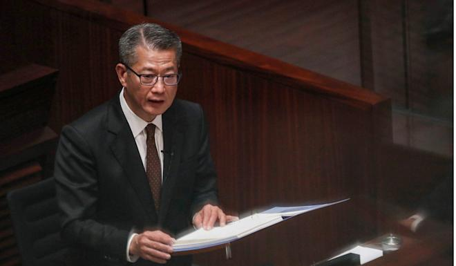 Financial Secretary Paul Chan did not touch on the property duties in his budget speech. Photo: Winson Wong