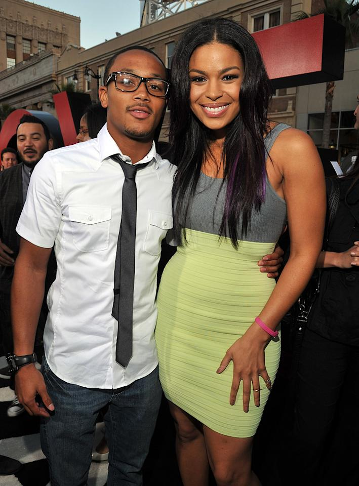 """<a href=""""http://movies.yahoo.com/movie/contributor/1804674378"""">Romeo</a> and <a href=""""http://movies.yahoo.com/movie/contributor/1810118033"""">Jordin Sparks</a> attend the Los Angeles premiere of <a href=""""http://movies.yahoo.com/movie/1810187722/info"""">The Hangover Part II</a> on May 19, 2011."""