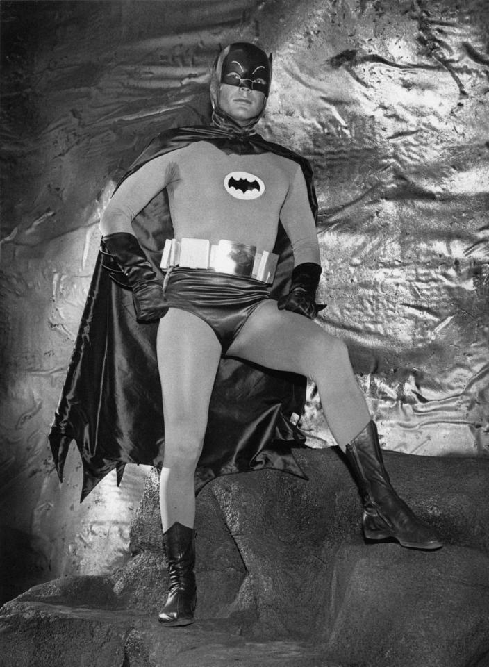 """<p>The costume worn by actor <a href=""""https://ew.com/tag/adam-west/"""">Adam West</a> in the popular '60s TV series basically looks like a comic drawing replicated in real life. It may be hard to imagine now, but the focus back then was on colorful, campy fun rather than self-serious practicality.</p> <p><strong>Related:</strong> <a href=""""https://ew.com/tv/2017/06/11/adam-west-batman-tribute/"""">In praise of Adam West's sincere, goofy Batman</a></p>"""