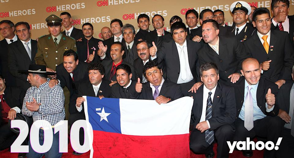 What happened to the Chilean miners who were rescued in 2010?