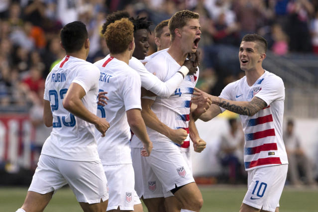 The U.S. men's national team put on a very promising display against Bolivia in Chester, Pa. (Getty)